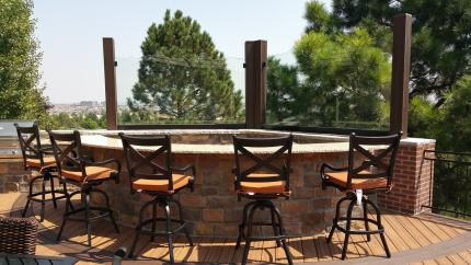 Custom-Decks-bar-with-built-in-margarita-machine-lone-tree-colorado