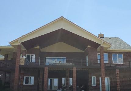 Custom-Decks-scissor-truss-design-patio-cover-37_-span-15-can-lights-parker-colorado