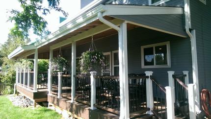 Custom-Decks-unfinished-underside-patio-cover-Littleton-Colorado