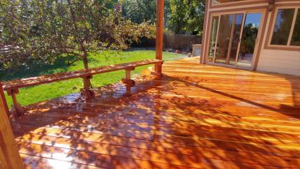 Custom-Decks-redwood-deck-with-patio-cover-pergola-benches-Golden-Colorado