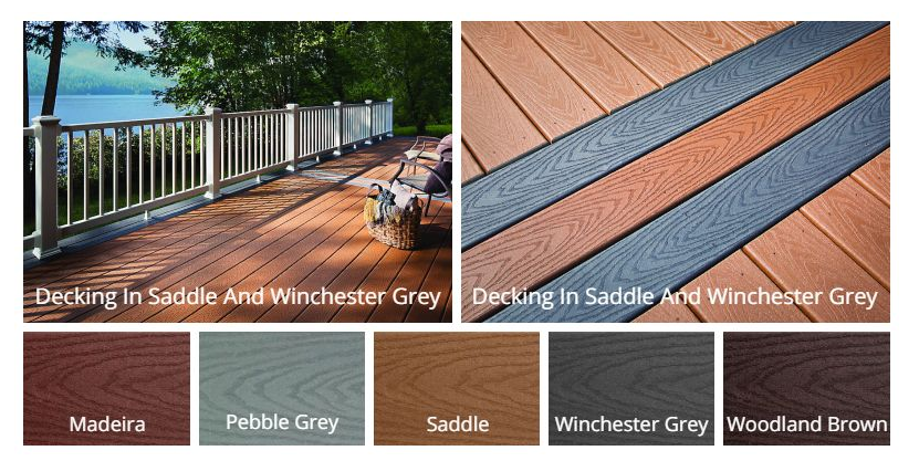 Trex Select® Decking Colors